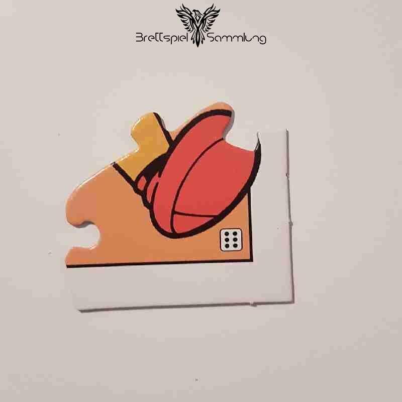 Disney Kinder Spielebox Micky Maus Puzzleteil Orange 6
