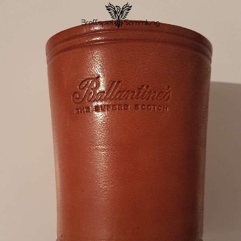 Würfelbecher Ballantines The Superb Scotch