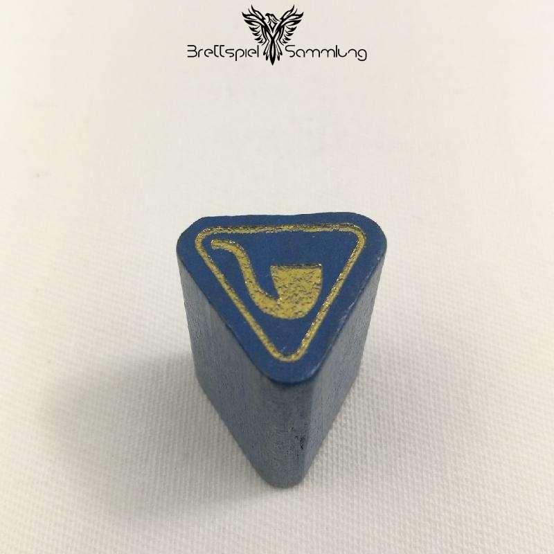 Adel Verpflichtet Spielfigur Wappenstein Blau