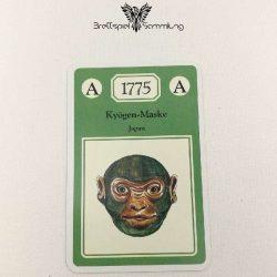 Adel Verpflichtet Sammelkarte A 1775 Kyögen Maske Japan