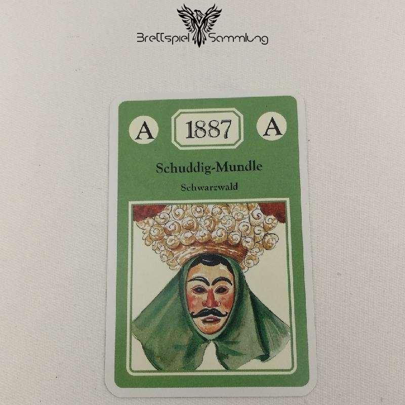 Adel Verpflichtet Sammelkarte A 1887 Schuddig Mundle Schwarzwald