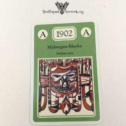 Adel Verpflichtet Sammelkarte A 1902 Malangan Maske Melanesien