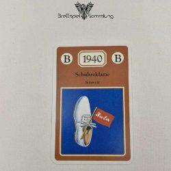 Adel Verpflichtet Sammelkarte B 1940 Schuhreklame Schweiz