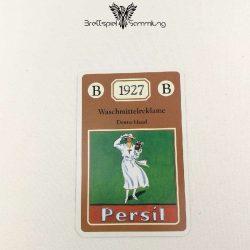 Adel Verpflichtet Sammelkarte B 1927 Waschmittelreklame Deutschland