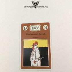 Adel Verpflichtet Sammelkarte B 1906 Waschanstalt Zürich Schweiz