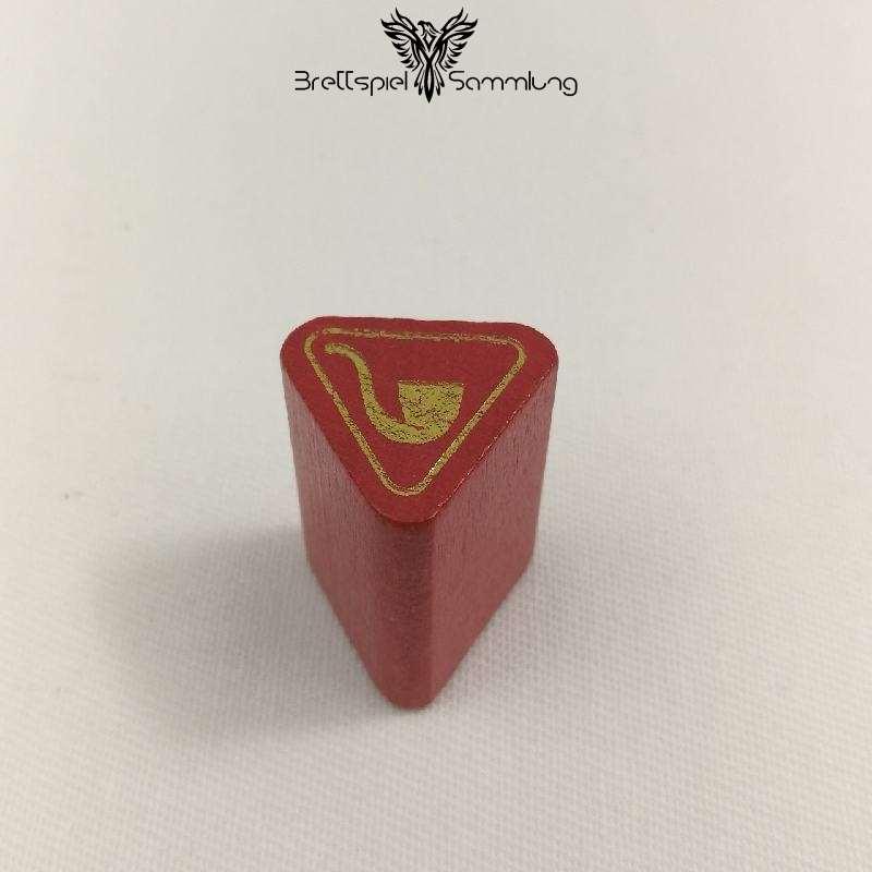 Adel Verpflichtet Spielfigur Wappenstein Rot