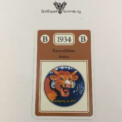 Adel Verpflichtet Sammelkarte B 1934 Käsereklame Belgien