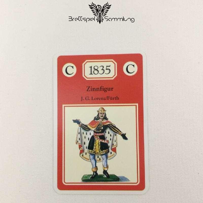 Adel Verpflichtet Sammelkarte C 1835 Zinnfigur J.g. Lorenz/fürth