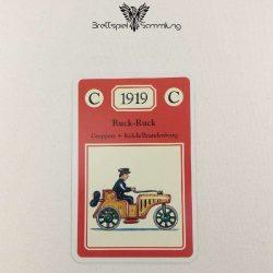 Adel Verpflichtet Sammelkarte C 1919 Ruck Ruck Greppert + Kelch/brandenburg