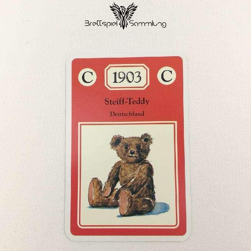 Adel Verpflichtet Sammelkarte C 1903 Steiff Teddy Deutschland