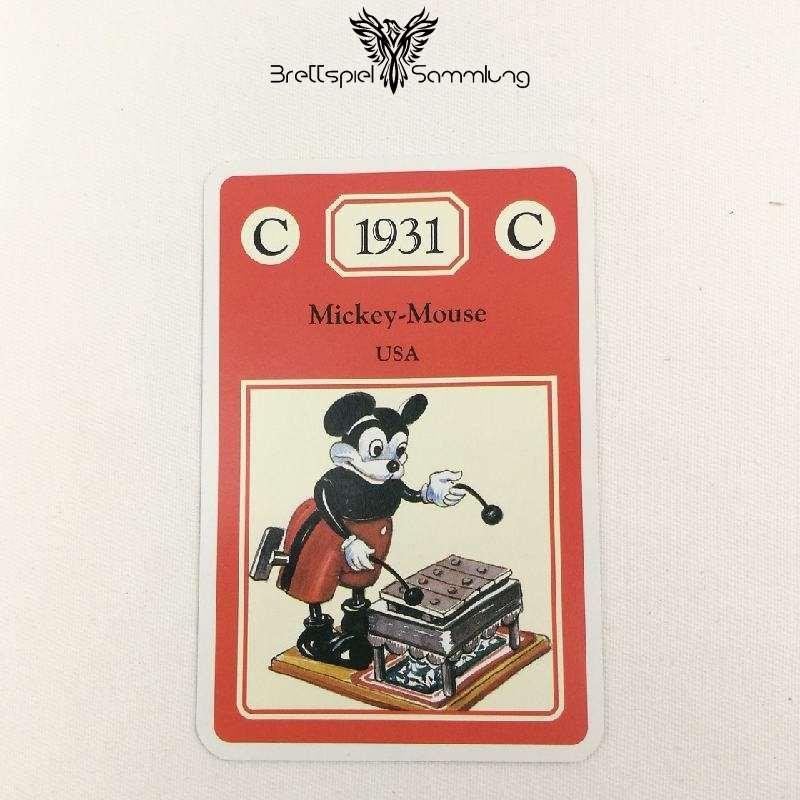 Adel Verpflichtet Sammelkarte C 1931 Mickey Mouse Usa