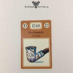 Adel Verpflichtet Sammelkarte D 1748 Porzellanpfeife Frankreich