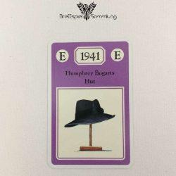 Adel Verpflichtet Sammelkarte E 1941 Humphrey Bogarts Hut