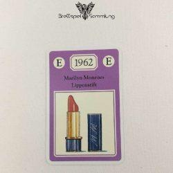 Adel Verpflichtet Sammelkarte E 1962 Marilyn Monroes Lippenstift
