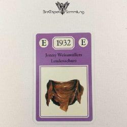 Adel Verpflichtet Sammelkarte E 1932 Jonny Weissmüllers Lendenschurz