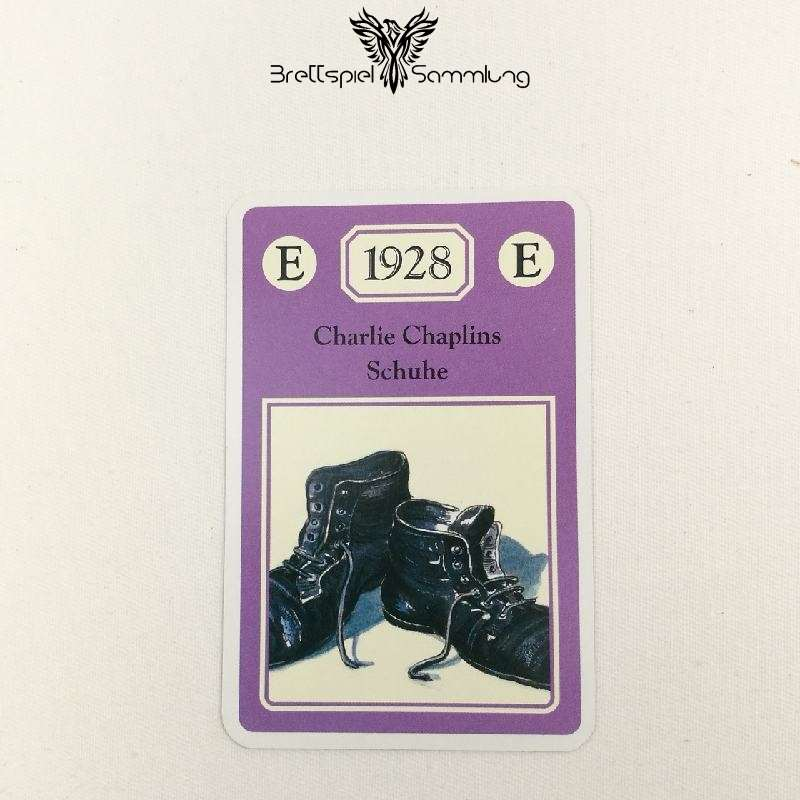 Adel Verpflichtet Sammelkarte E 1928 Charlie Chaplins Schuhe