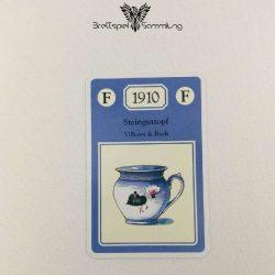 Adel Verpflichtet Sammelkarte F 1910 Steinguttopf Villeroy & Boch