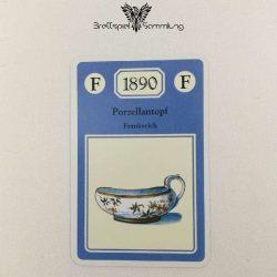 Adel Verpflichtet Sammelkarte F 1890 Porzellantopf Frankreich