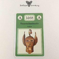 Adel Verpflichtet Sammelkarte A 1468 Frauenschandmaske Italien