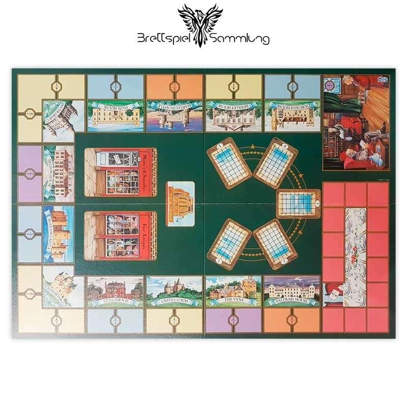 Brettspiel Sammlung Adel Verpflichtet Spielplan