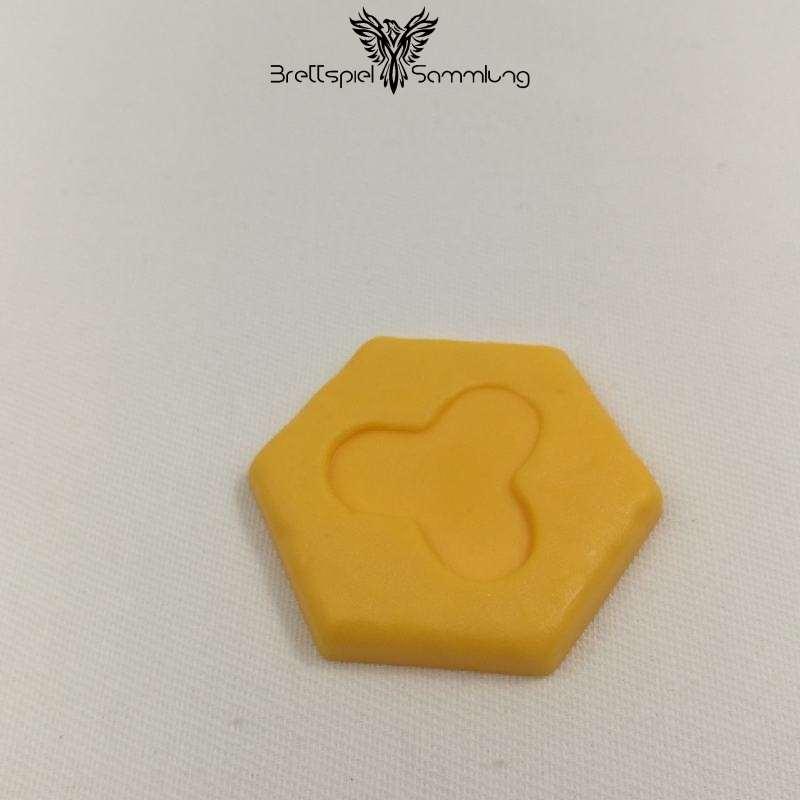 Atlantis Spielsteine Gelbe Flachlandteile