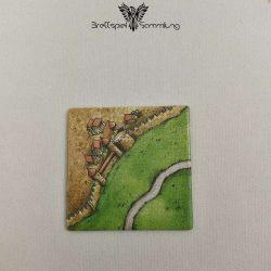 Carcassonne Landschaftskarte Stadtteil Mit Straße #2