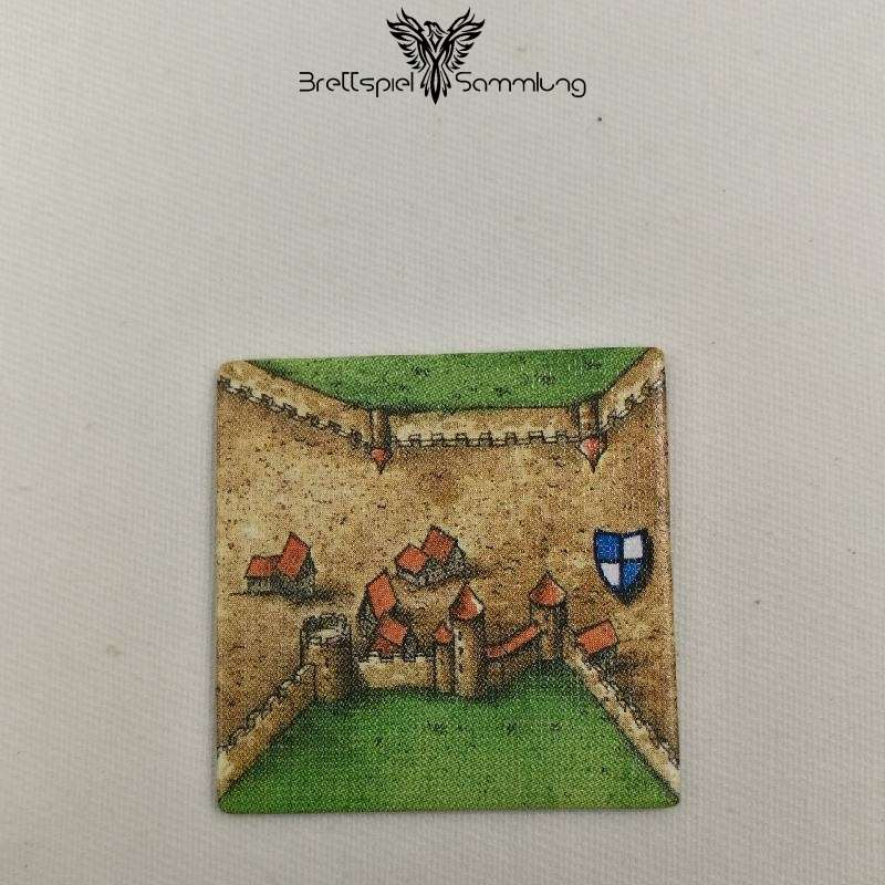 Carcassonne Landschaftskarte Wappen Stadtteil #4