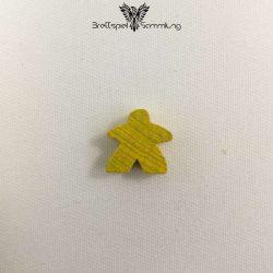 Carcassonne Spielstein Meeple Gefolgsleute Gelb