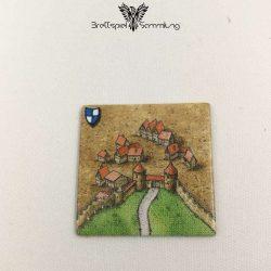 Carcassonne Landschaftskarte Wappen Stadtteil Mit Straße #1