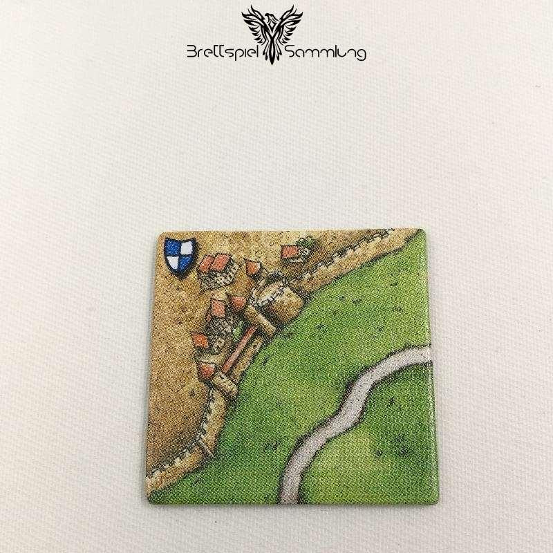 Carcassonne Landschaftskarte Wappen Stadtteil Mit Straße #2
