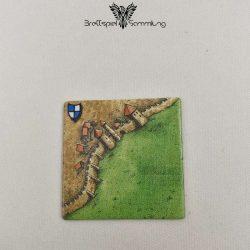 Carcassonne Landschaftskarte Wappen Stadtteil #3