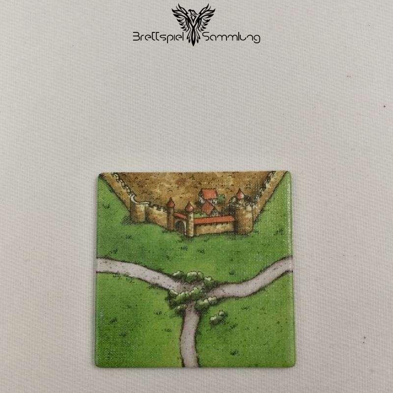 Carcassonne Landschaftskarte Kreuzung Stadt