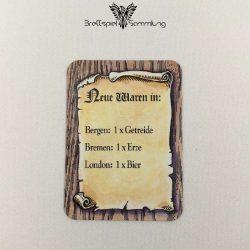 Die Hanse Spielkarte Neue Waren In #1