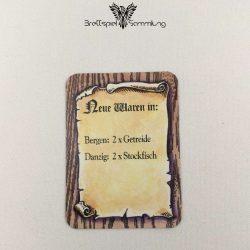 Die Hanse Spielkarte Neue Waren In #2