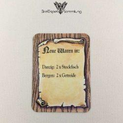 Die Hanse Spielkarte Neue Waren In #4
