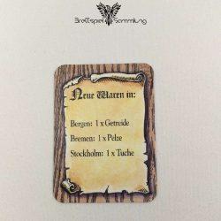 Die Hanse Spielkarte Neue Waren In #5