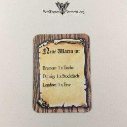 Die Hanse Spielkarte Neue Waren In #6