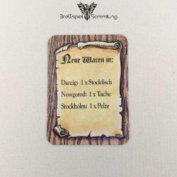 Die Hanse Spielkarte Neue Waren In #9