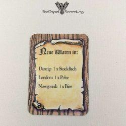Die Hanse Spielkarte Neue Waren In #10