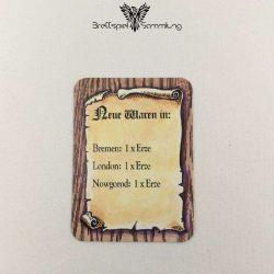 Die Hanse Spielkarte Neue Waren In #11
