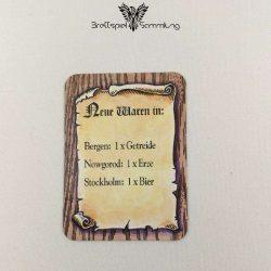 Die Hanse Spielkarte Neue Waren In #12