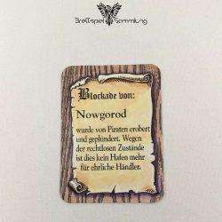 Die Hanse Spielkarte Blockade Von Nowgorod