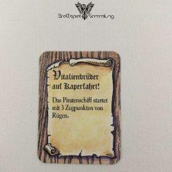 Die Hanse Spielkarte Vitalienbrüder Auf Kaperfahrt #1