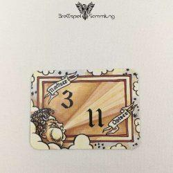Die Hanse Spielkarte Windkarte 3/11