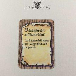 Die Hanse Spielkarte Vitalienbrüder Auf Kaperfahrt #2