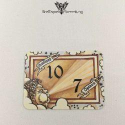 Die Hanse Spielkarte Windkarte 10/7