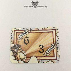 Die Hanse Spielkarte Windkarte 6/3