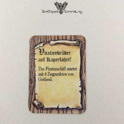 Die Hanse Spielkarte Vitalienbrüder Auf Kaperfahrt #3