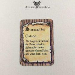 Die Hanse Spielkarte Sturm Auf Der Ostsee #1