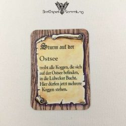 Die Hanse Spielkarte Sturm Auf Der Ostsee #2